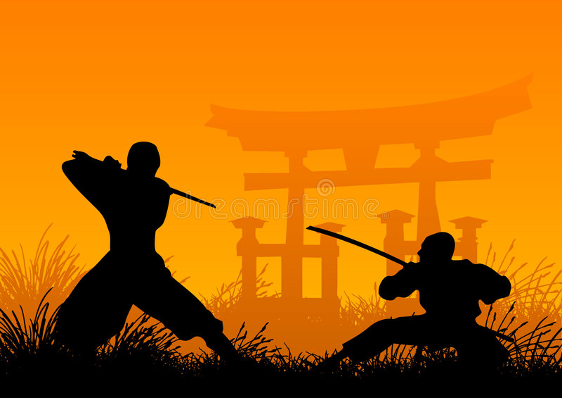 ninjas απεικόνιση αποθεμάτων