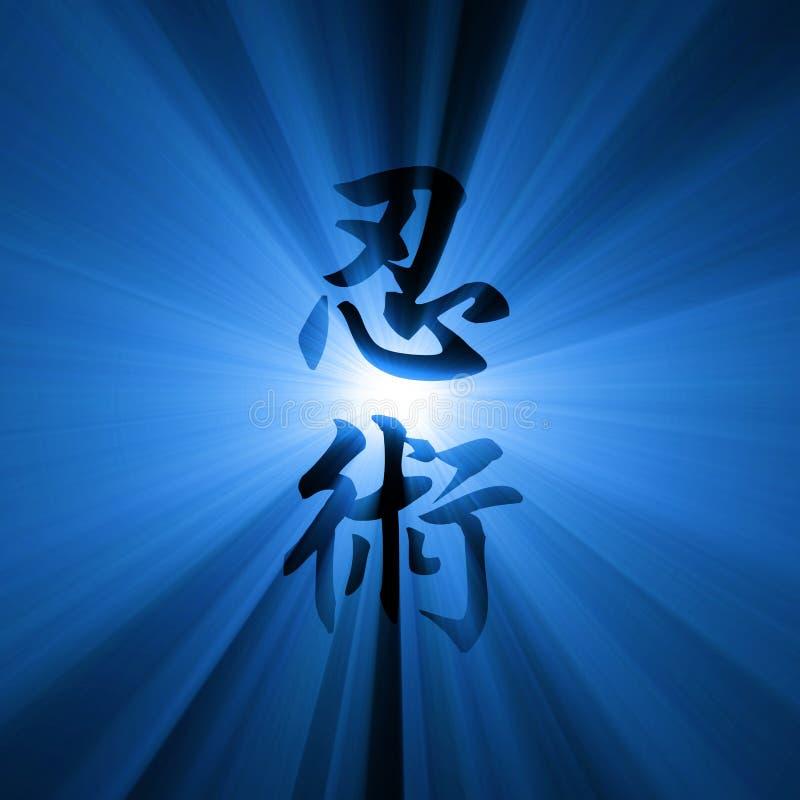 Download Ninjutsu Kanji Script Light Flare Stock Illustration - Illustration of decoration, artwork: 21126806