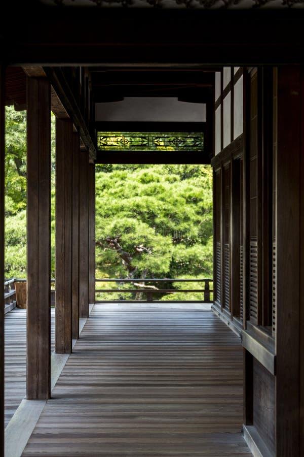 Ninna-ji Goten in Kyoto, Japan. Goten (former residence of the head priest) of Ninna-ji Temple (Japanese: Ninna-ji Dera) in Kyoto, Japan. The historic Buddhist royalty free stock images