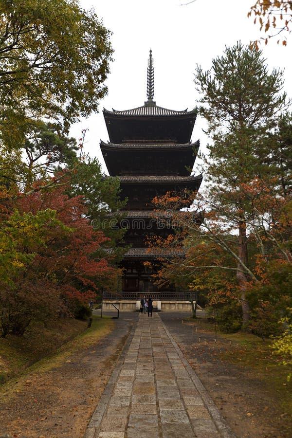 Ninnaji temple in Kyoto, Japan