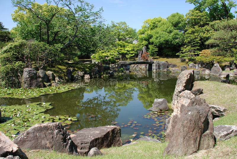 Ninomaru Gärten stockfotos