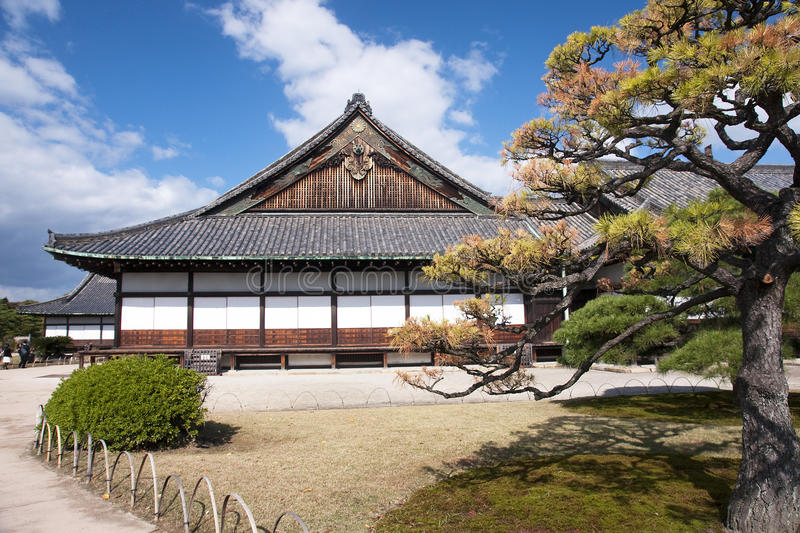 Ninomaru Palace in Nijo Castle royalty free stock images