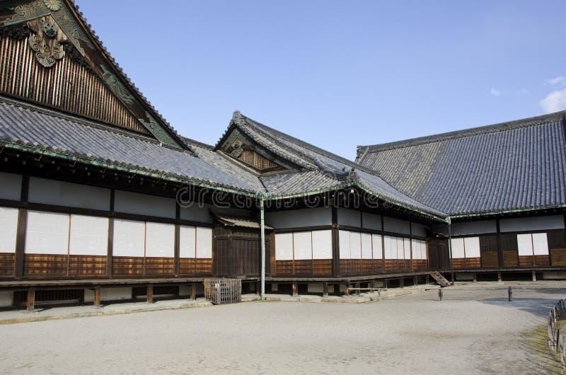 Ninomaru palace in nijojo castle in Kyoto, Japan stock photography