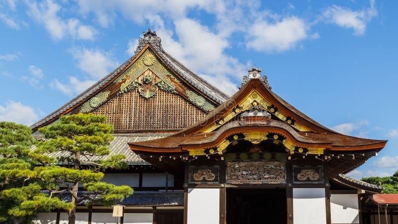 Ninomarupaleis bij Nijo-Kasteel in Kyoto, Japan royalty-vrije stock afbeelding