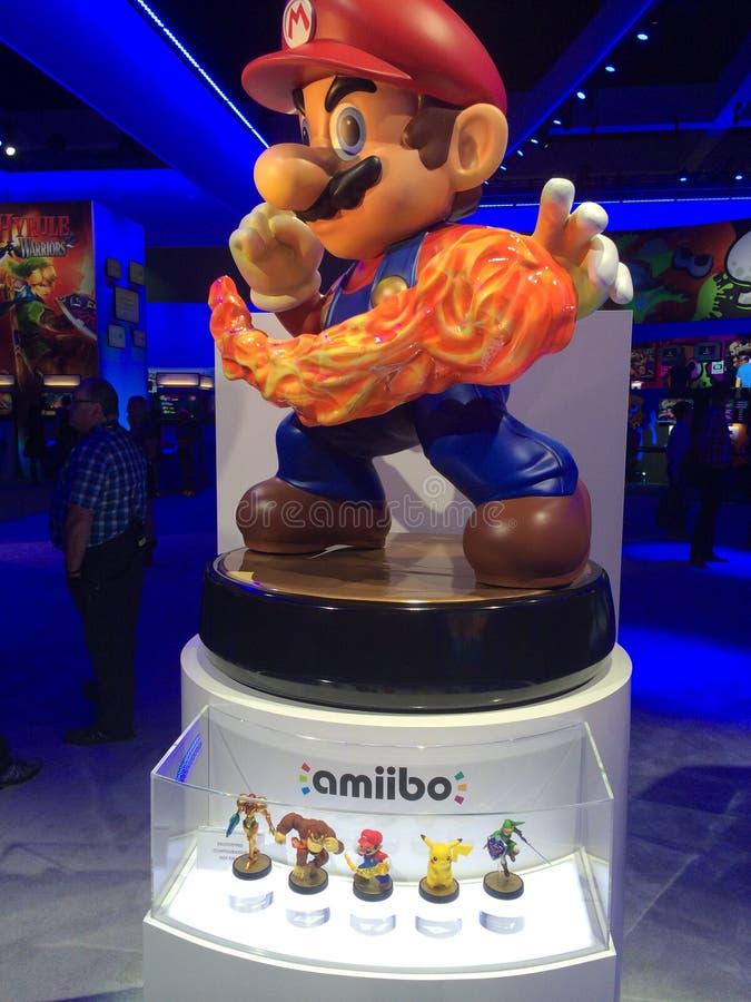 Nintendo Amiibo figurki fotografia stock