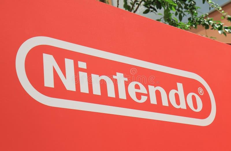 Nintendo Japońska gra komputerowa Japonia obrazy stock