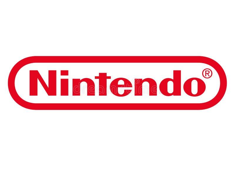 Nintendo-Logo stock abbildung