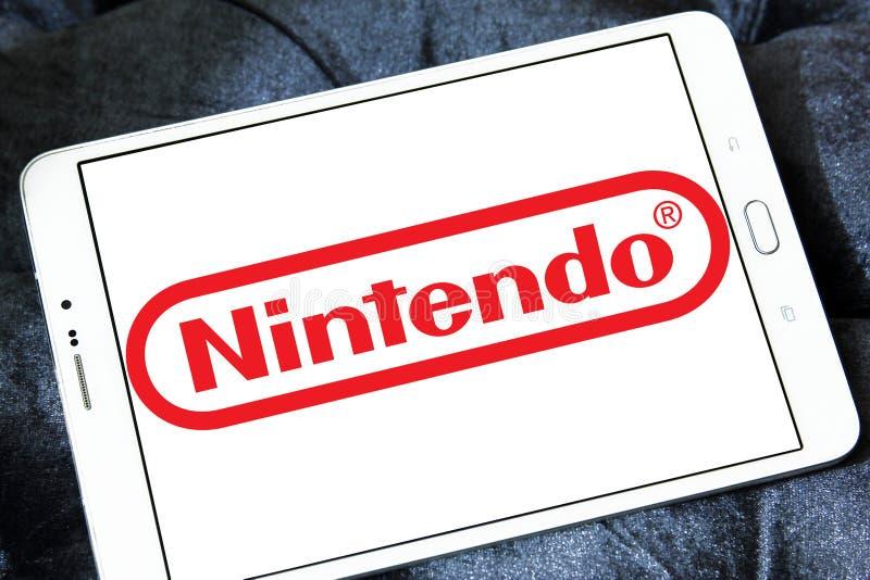 Nintendo logo obrazy stock