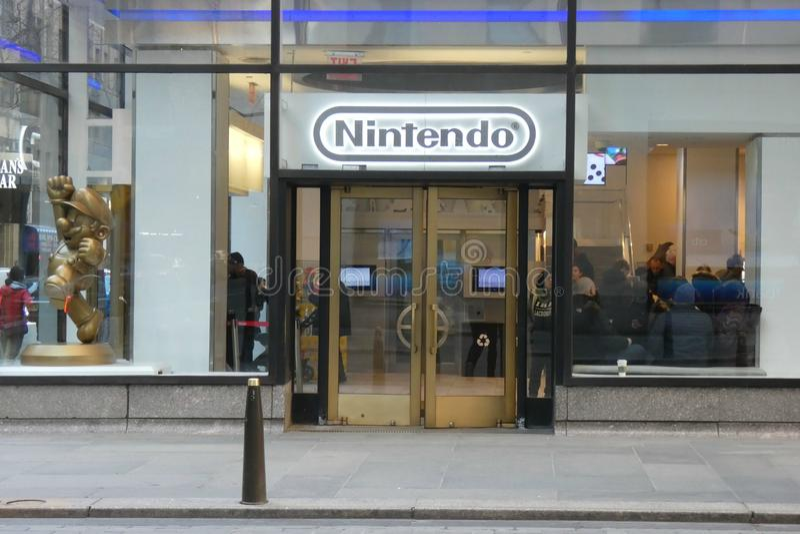 Nintendo Przechuje obraz royalty free