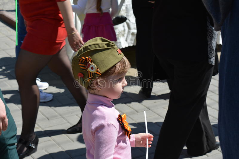The ninth of may, the victory day royalty free stock photography