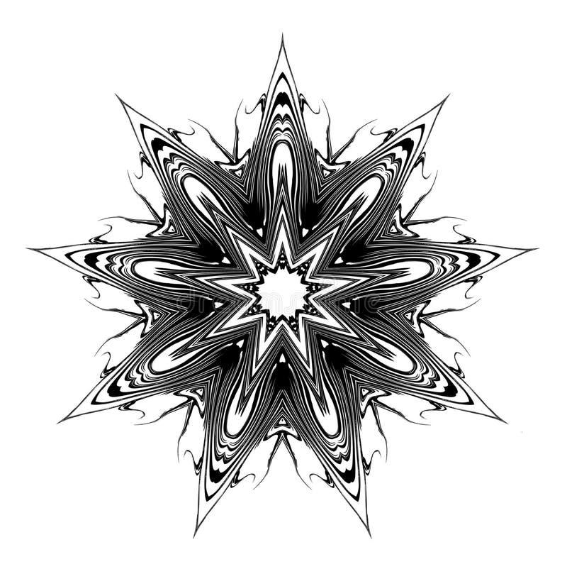 Download Ninth Star Glyph stock illustration. Illustration of native - 4135287