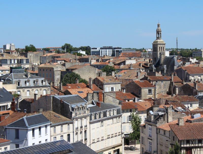 Niort Frankrike royaltyfria foton