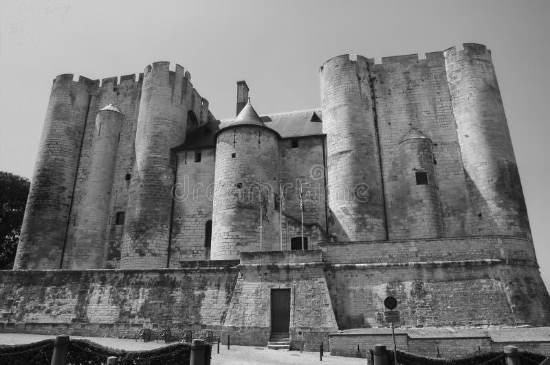 Niort (Frankrike): slott royaltyfria bilder