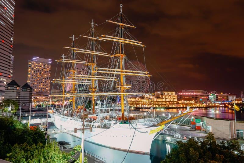 Nipônico Maru Boat em Yokohama imagem de stock