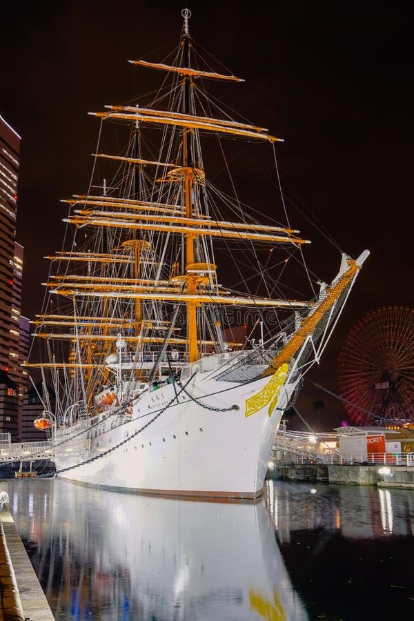 Nipônico Maru Boat em Yokohama, Japão fotografia de stock