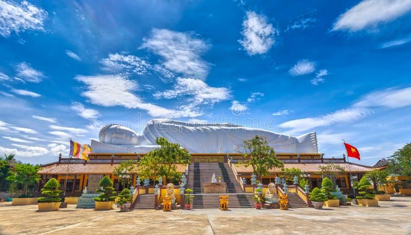 Nirvana Boedha grootst in Zuidoost-Azië stock fotografie