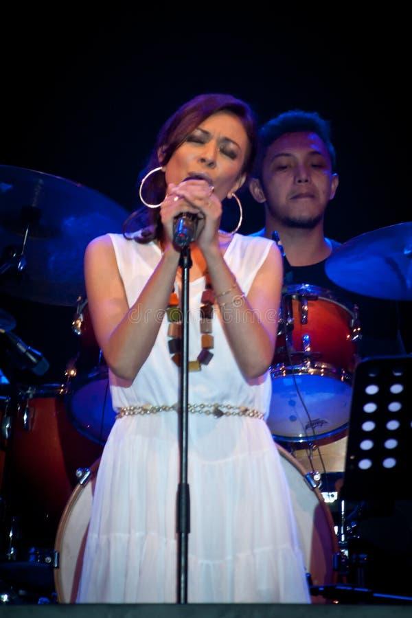 Nirwana Bali Jazz Series 2013 photo stock