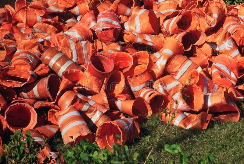 Nirwana dla Pomarańczowych budów baryłek zdjęcie royalty free