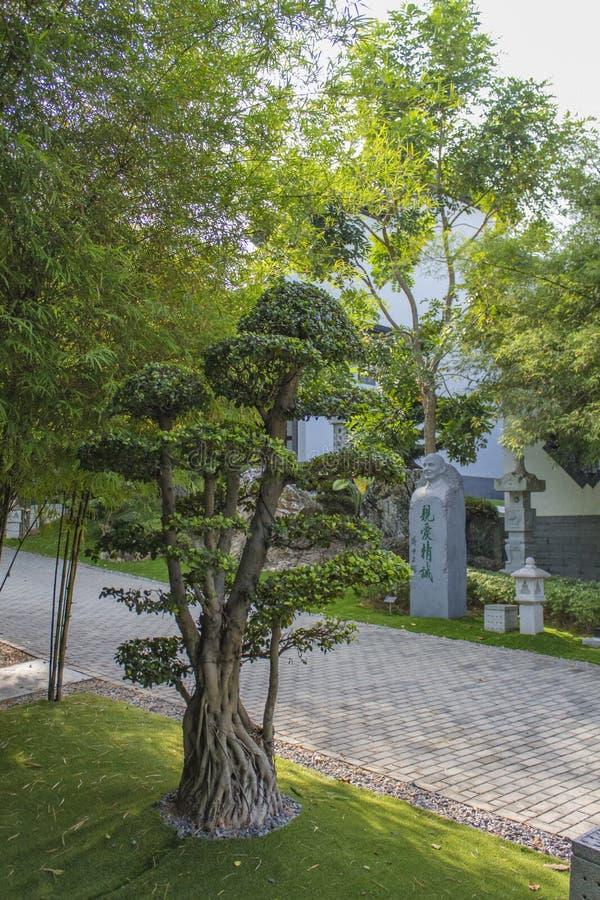 Nirwana Memorial Park w Semenyih, Malezja zdjęcia royalty free