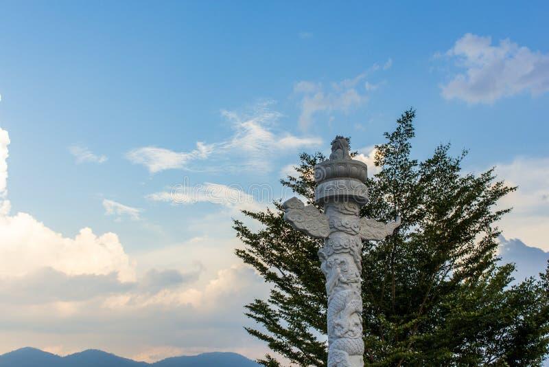 Nirwana Memorial Park w Semenyih, Malezja fotografia royalty free