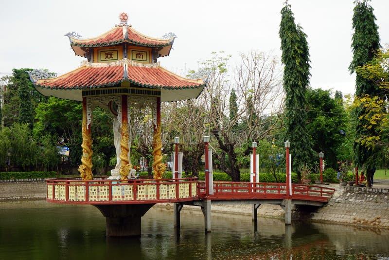 Nische im buddhistischen Kloster stockfoto