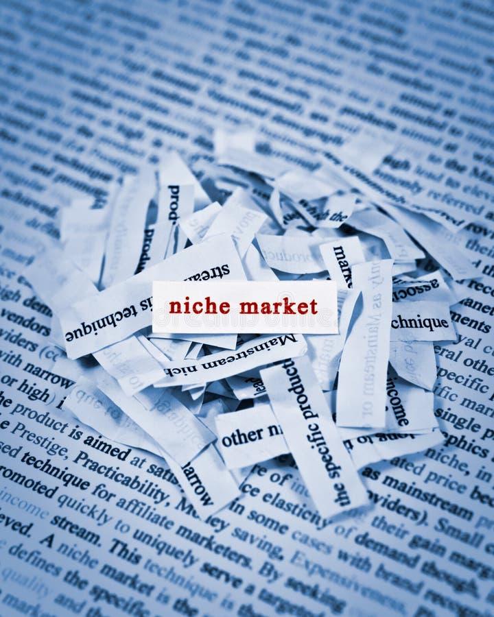 Nischen-Markt lizenzfreie stockfotos