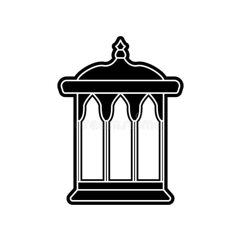 Nischenikone Element von arabischem f?r bewegliches Konzept und Netz Appsikone Glyph, flache Ikone f?r Websiteentwurf und Entwick vektor abbildung
