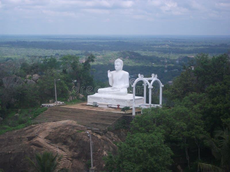 Nise-budhdha stachu in Sri Lanka stockbild