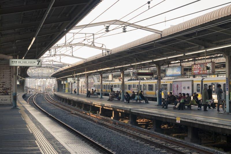 Nishi-Funabashi, Japón foto de archivo libre de regalías