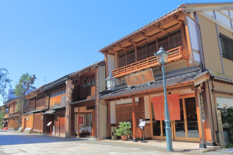 Nishichaya Japans oud huis Kanazawa Japan royalty-vrije stock afbeeldingen