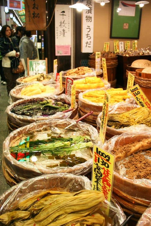 Nishiki Markets stock photo