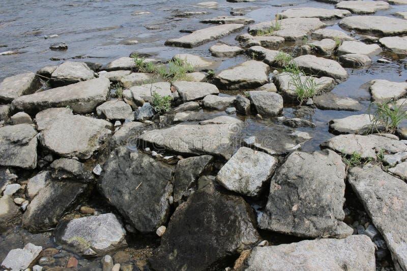 Nishiki rzeka przy Japan 2016 fotografia stock