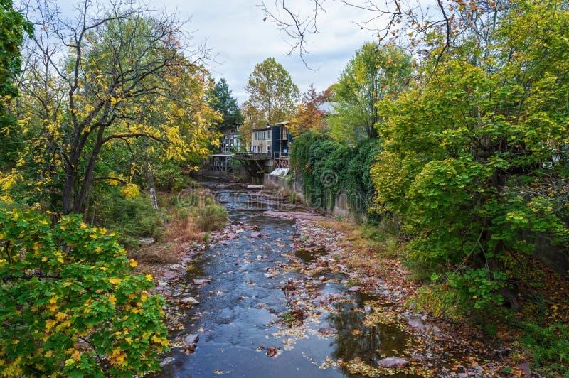 Nishisakwick Creek royalty free stock photos