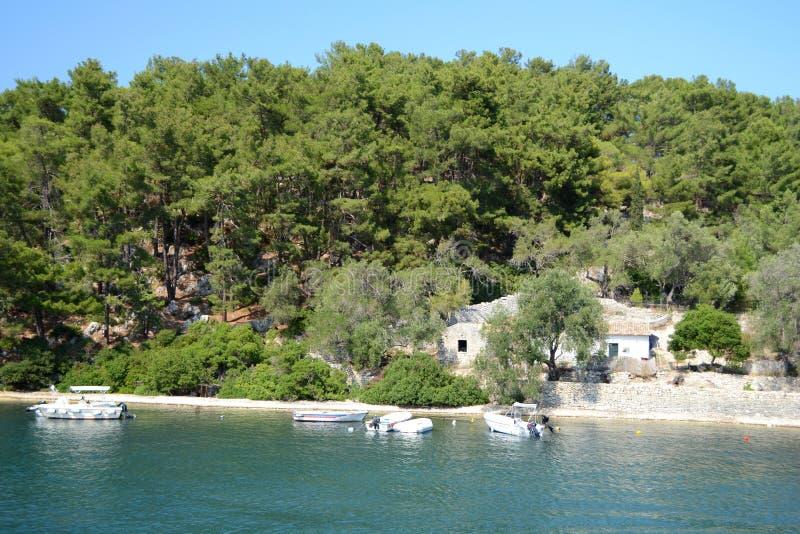 Nisida Agios Nikolaos stock foto