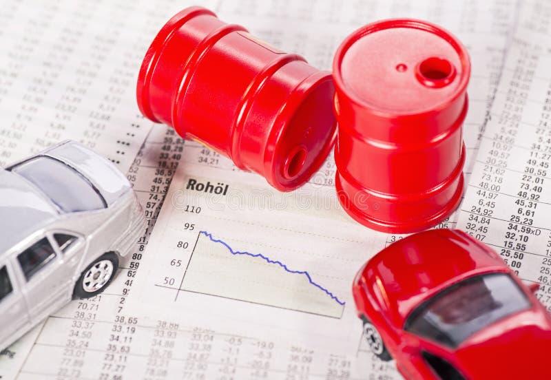 Niska cena dla ropy naftowej obrazy stock