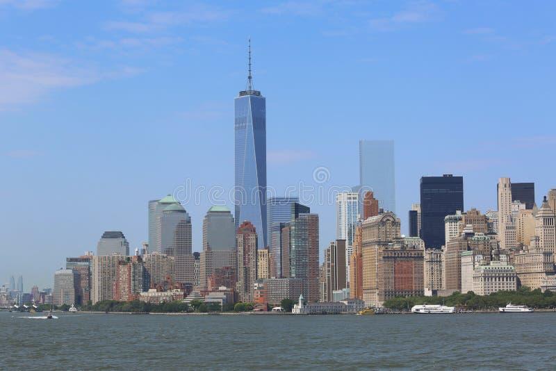 Download Niska Manhattan Panoramy Linia Horyzontu Fotografia Editorial - Obraz złożonej z przeznacza, hudson: 41953607