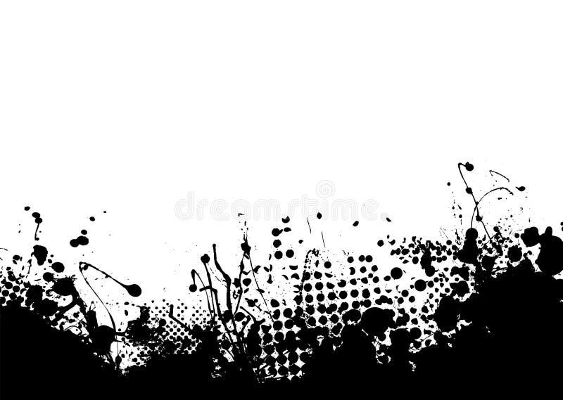 niski atramentu splat ilustracji