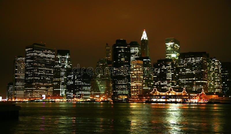 niski Manhattan fotografia royalty free