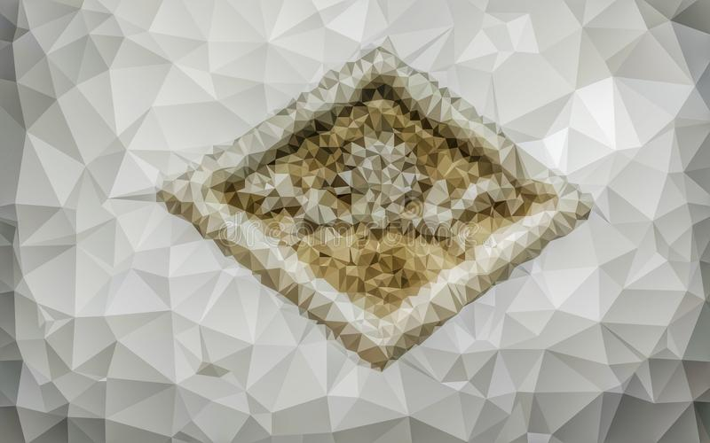 Niski poli- abstrakta wzór zdjęcia royalty free