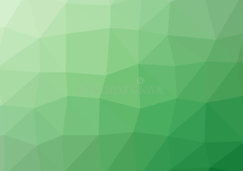 Niski poli- jaskrawy stubarwny lekki trójboka tła koloru gradientu wzoru kryształ, płaska projekta koloru ilustracja ilustracja wektor