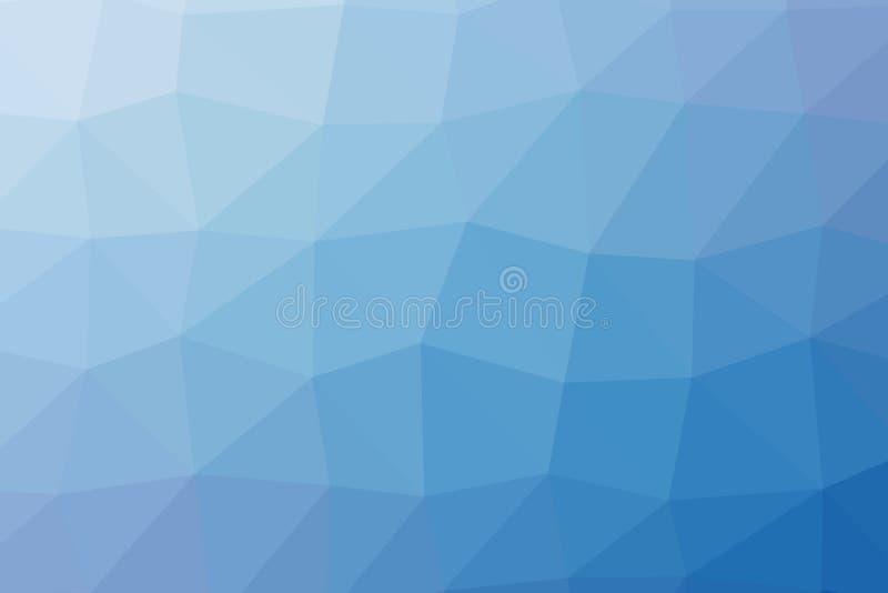 Niski poli- jaskrawy stubarwny lekki trójboka tła koloru gradientu wzoru kryształ, płaska projekta koloru ilustracja royalty ilustracja
