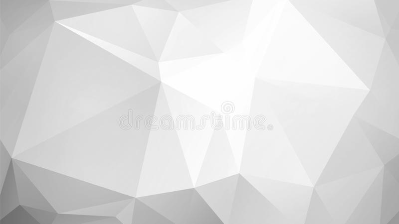 Niski poli- szary tło royalty ilustracja
