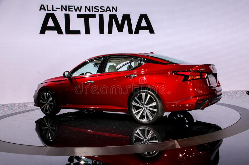 Nissan Altima Platinum photos libres de droits