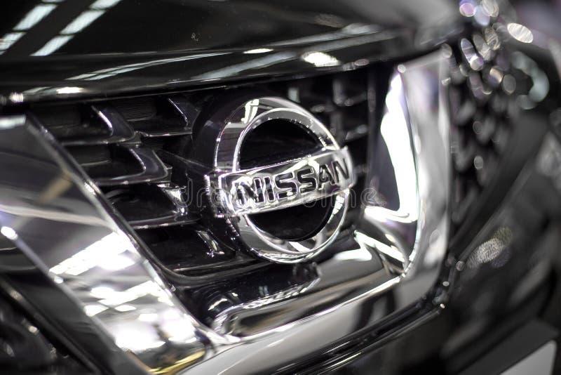 NISSAN-Auto stockfoto