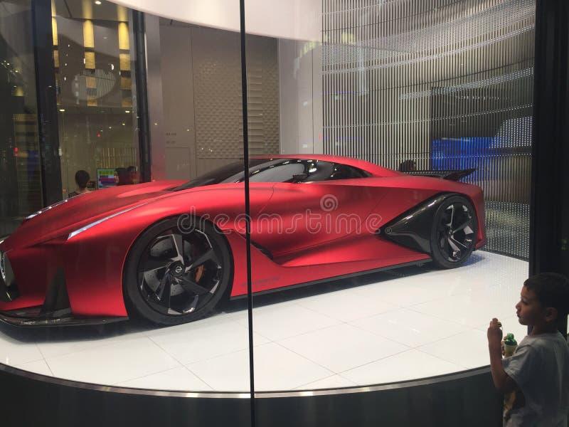 Nissan concept future Sport Car stock photography