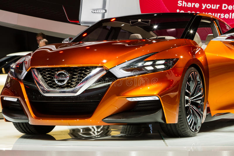 Nissan Concept Sports Sedan royalty-vrije stock fotografie