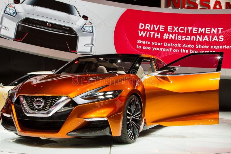 Nissan Concept Sports Sedan stock image