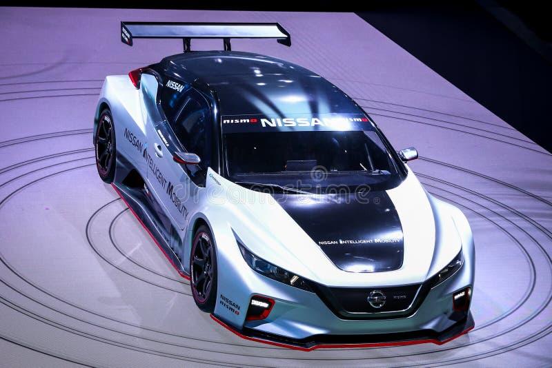 Nissan folheia Nismo RC fotos de stock
