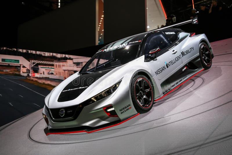 Nissan folheia Nismo RC foto de stock