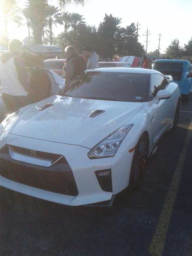Nissan gtr imagem de stock royalty free